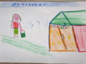 City dreams: for one rural 12-year-old girl in Peru, a good life would be shopping in Lima