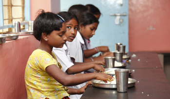 What do Indian children say about nutrition, food insecurity