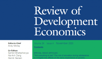 Review of Development Economics (Volume 24, Issue 4) cover
