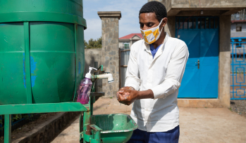 Hand washing in Ethiopia during the COVID-19 pandemic