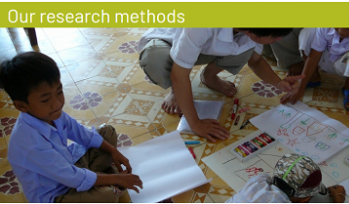Our research methods cover