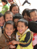 Group of young children laughing