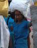 Girl carrying food