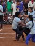 School children playing a sports match