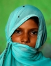 A Muslim girl in the village of Jaisinghpura in the northern state of Haryana, India, on June 2. REUTERS/Cathal McNaughton
