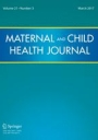 Maternal and Child Health Journal cover