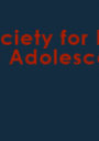 Society for Research on Adolescence logo