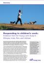 Responding to Children's Work infographic