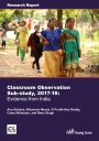 Classroom observation sub-study, 2017-18 cover