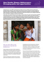 Young Lives policy brief cover
