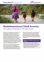 Multidimensional Child Poverty: Including Children's Perspectives