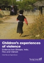 Children's experiences of violence cover