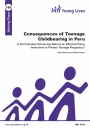 Consequences of teenage childbearing in Peru cover