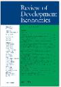 Review of Development Economics cover