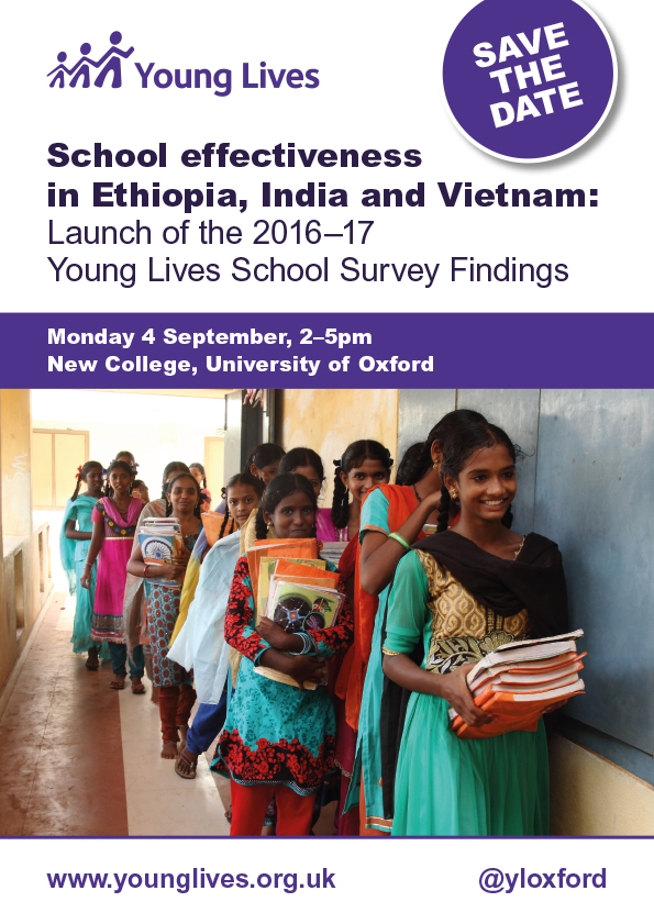 Young Lives School Survey Findings Launch